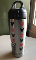 Disney Red Cap Coca-Cola Stainless Steel Tervis Water Bottle New Mickey Mouse
