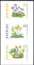 Sweden 2003 Flowers/Plants/Nature/Cowslip/Coltsfoot  3v s/a bklt pane (s3829)