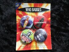 Doctor Who. Set of 4 Badges.2004