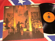 Abba-The Visitors LP 1981 GERMAN PRESS POLYDOR 2311122 OIS