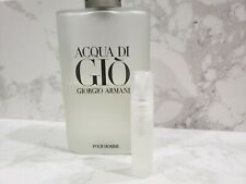 GIORGIO ARMANI ACQUA DI GIO EAU DE TOILETTE 5ML DECANT SAMPLE TRAVEL SPRAY