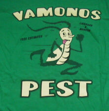 "NEW MENS M ""BREAKING BAD VAMONOS PEST"" CONTROL T SHIRT, Green Tee"