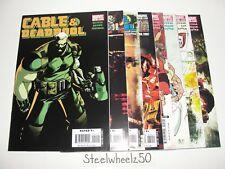 Cable & Deadpool 8 Comic Lot Marvel 2007 #40 41 43 44 45 46 47 49 Wolverine RARE