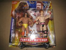 NIP WWE ULTIMATE WARRIOR VS SHEAMUS FANTASY MATCHUP FIGURES I SHIP EVERYDAY