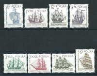Pologne N°1249/56** (MNH) 1963/64 - Navire à voile