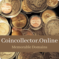 COINCOLLECTOR.ONLINE Premium Domain Name For Sale  - Coins, ** 3 DOMAIN DEAL!**