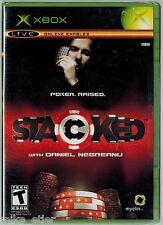 Stacked With Daniel Negreanu (Xbox, 2006) Factory Sealed