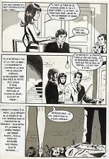 LA LOUVE WEEKEND A PEKIN  (RENAUD) PLANCHE ORIGINALE AREDIT PAGE 167