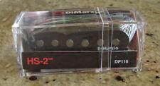 Dimarzio dp116 Hs2 Hs-2 humbuckers de una bobina Fits Fender Strat Ibanez Rg, Jem