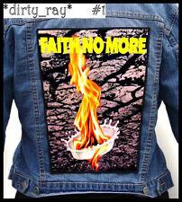FAITH NO MORE === Huge Back Jacket Patch/Aufnäher === Various Designs