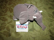"Disney Store George of the Jungle Shep Elephant Bean Bag Plush Toy 8"" NWT Tag"