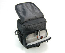 Fuji Compact System X-Pro1 Camera Case Bag With Shoulder Strap Card Holder