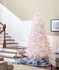 Jaclyn Smith 7' Pre-Lit Glacier White Pine Christmas Tree, 581 Tips, 600 Lights