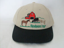 Redeem R&P Farm Horse Cow Embroidered Adjustable Snapback Hat