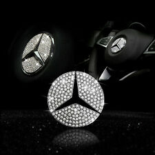 49mm Mercedes Benz Lenkrad Lenkrad Crystal Logo