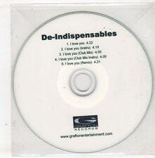 (GX750) De-Indispensables, I Love You - DJ CD
