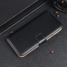 Genuine Leather Flip Case Wallet Cover For Motorola Moto G 3 / 3rd Generation