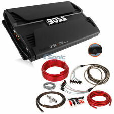 BOSS 3700W 5-Channel Phantom Full Range Car Amplifier + Amp kit & RCA!! | PV3700