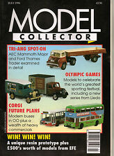 MODEL COLLECTOR Magazine July 1996 Lego Triang Spot-On EFE Dinky Corgi OOC Lledo