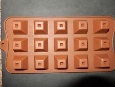 15 FORI Stampo in Silicone Forma Piramide Jelly Caramelle Ghiaccio Torta al Cioccolato UK