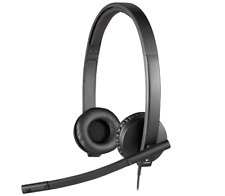 Logitech H570e A-00064 Noise-Cancelling USB 2.0 Wired Online Stereo Headset