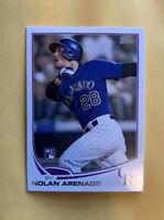 2013 Nolan Arenado Topps Rookie Card US259 Rockies