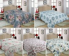 Queen/King/Double sizes Quilted 3 piece Bedspread