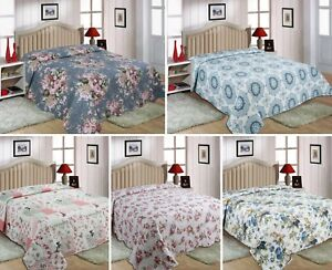 Single Sizes Quilted 2 piece Bedspread