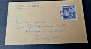 Malta 1954 Royal Visit  First Day Cover