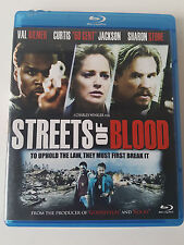 Streets of Blood (Blu-ray Disc, 2009) Val Kilmer, Sharon Stone, 50 Cent