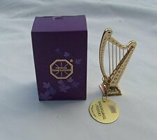 CRYSTAL TEMPTATIONS -Gold Colour Harp with Swarovski Crystals