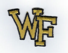 1980's Wake Forest University patch NCAA College old logo Demon Decons