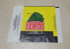 1983 Scanlens Return of the Jedi - Wax Pack Wrapper (Jabba the Hutt)