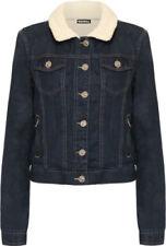 Altro giacche da donna blu in pelliccia