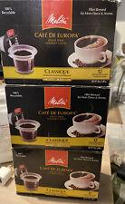 3 Melitta Medium Roast  Classique Coffee Single Serve K Cup   18 Count Each