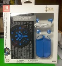 NEW Nintendo Switch Starter Kit Legend of Zelda Sheikah Eye Edition Case Earbuds