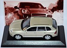 Porsche Cayenne Turbo Typ 9PA 2002-07 champagner metallic 1:43 Minichamps