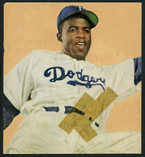 Jackie Robinson Autographed Signed Photo Collage Cut Sig Dodgers Beckett A08274