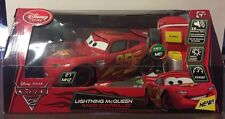 Disney Store CARS 2 Lightning McQueen Radio Controlled (10 inches)