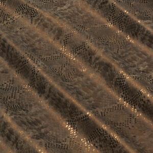 Ziegenleder Reptil Design 1,0 mm Dick Velour Lederhaut Fell Leather N159-4-5