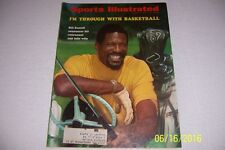 1969 Sports Illustrated BOSTON Celtics BILL RUSSELL Retires From Basketball FREE