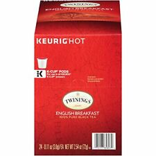 NEW Twinings English Breakfast Tea Keurig K Cups 48 Count FREE SHIPPING
