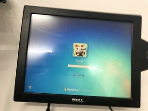 """Dell E157FPTe 15"""" POS LCD Touschscreen Monitor w/Stand & Card Reader - Quantity"""