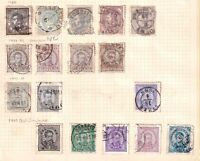 PORTUGAL THIRD ISSUES COLLECTION LOT MOUNTED 17 STAMPS $$$$$$$
