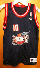 HOUSTON ROCKETS youth lrg basketball jersey Sam Cassell circa 1994 kids beat-up