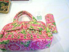 Vera Bradley petal pink Lola purse and glasses case, NWT