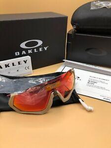 *Oakley Flight Jacket Limited To 150 Mud Splatter Prizm Trail NEW  Free S/H***