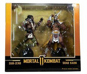 McFarlane Toys Mortal Kombat 11 Sub-Zero vs Shao Kahn 2-Pack EXCLUSIVE BNIB UK