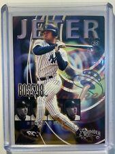1998 Skybox Thunder Boss '98 #9 of 20 Derek Jeter YANKEES  Rare Insert Mint