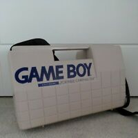 NINTENDO GAMEBOY PORTABLE CARRY-ALL DLX retro hard plastic console carry case